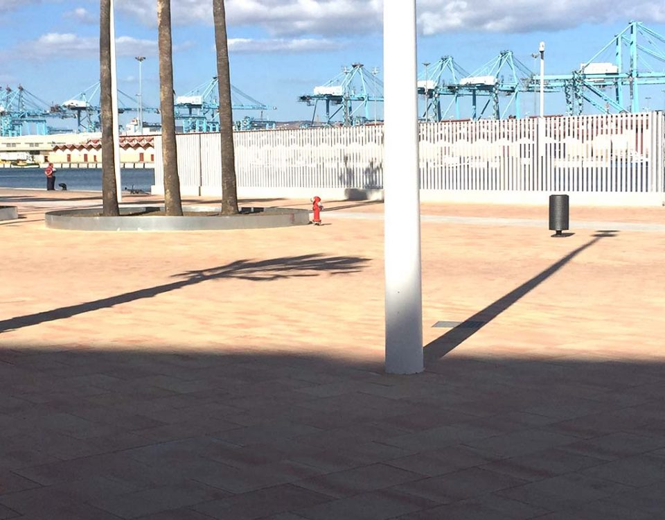 Acceso al Puerto de Algeciras